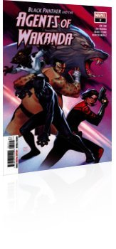 Marvel Comics: Black Panther and the Agents of Wakanda - Issue # 2 Cover