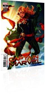 Marvel Comics: Captain Marvel - Issue # 11 Cover