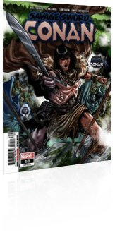 Marvel Comics: Savage Sword Of Conan - Issue # 10 Cover