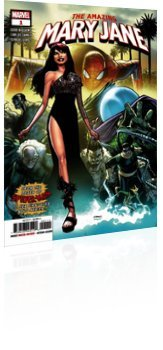 Marvel Comics: The Amazing Mary Jane - Issue # 1 Cover