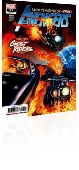 Marvel Comics: Avengers - Issue # 25 Cover