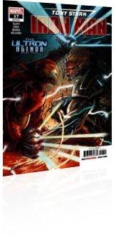 Marvel Comics: Tony Stark: Iron Man - Issue # 17 Cover