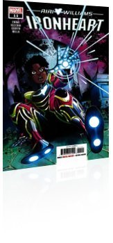Marvel Comics: Ironheart - Issue # 11 Cover
