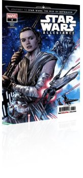 Marvel Comics: Journey to Star Wars: Rise of Skywalker - Allegiance - Issue # 4 Cover