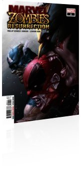 Marvel Comics: Marvel Zombies: Resurrection - Issue # 1 Cover