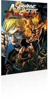 Marvel Comics: Savage Avengers - Annual # 1 Page 1