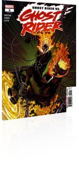 Marvel Comics: Ghost Rider - Issue # 2 Cover