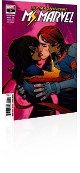 Marvel Comics: Magnificent Ms. Marvel - Issue # 9 Cover