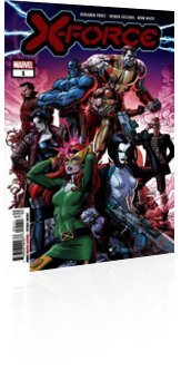 Marvel Comics: X-Force - Issue # 1 Cover