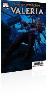 Marvel Comics: Age of Conan: Valeria - Issue # 4 Cover