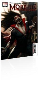 Marvel Comics: Morbius - Issue # 1 Cover