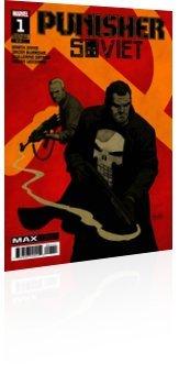 Marvel Comics: Punisher: Soviet - Issue # 1 Cover