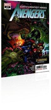 Marvel Comics: Avengers - Issue # 27 Cover