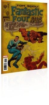 Marvel Comics: Fantastic Four: Grand Design - Issue # 2 Cover