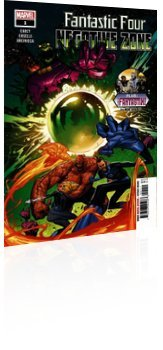 Marvel Comics: Fantastic Four: Negative Zone - Issue # 1 Cover