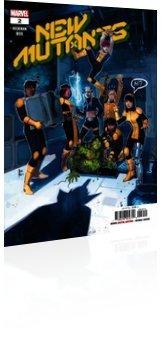 Marvel Comics: New Mutants - Issue # 2 Cover
