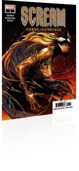Marvel Comics: Scream: Curse of Carnage - Issue # 1 Cover