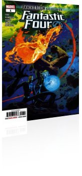 Marvel Comics: Annihilation Scourge: Fantastic Four - Issue # 1 Cover