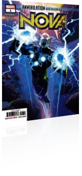 Marvel Comics: Annihilation: Scourge - Nova - Issue # 1 Cover