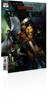 Marvel Comics: Conan: Serpent War - Issue # 1 Cover