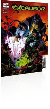 Marvel Comics: Excalibur - Issue # 3 Cover