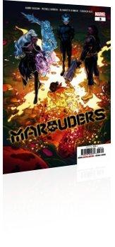 Marvel Comics: Marauders - Issue # 3 Cover