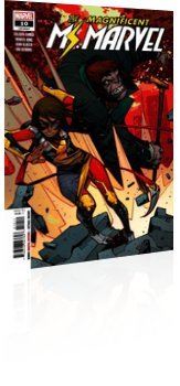 Marvel Comics: Magnificent Ms. Marvel - Issue # 10 Cover