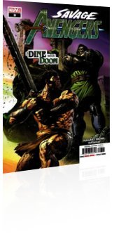 Marvel Comics: Savage Avengers - Issue # 8 Cover
