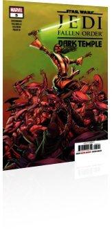 Marvel Comics: Star Wars: Jedi - Fallen Order Dark Temple - Issue # 5 Cover
