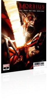 Marvel Comics: Morbius - Issue # 2 Cover