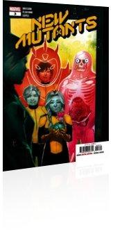 Marvel Comics: New Mutants - Issue # 3 Cover