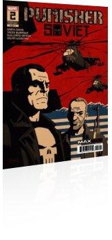 Marvel Comics: Punisher: Soviet - Issue # 2 Cover