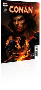 Marvel Comics: Savage Sword Of Conan - Issue # 12 Cover