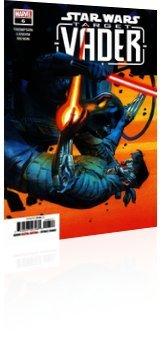 Marvel Comics: Star Wars: Target - Vader - Issue # 6 Cover