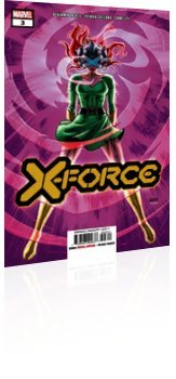 Marvel Comics: X-Force - Issue # 3 Cover