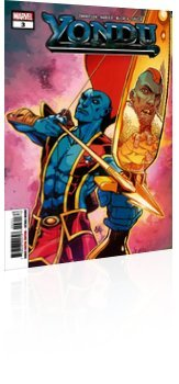 Marvel Comics: Yondu - Issue # 3 Cover
