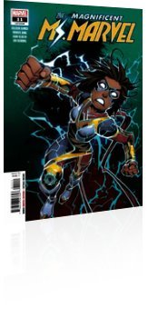Marvel Comics: Magnificent Ms. Marvel - Issue # 11 Cover