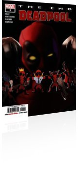 Marvel Comics: Deadpool: The End - Issue # 1 Cover