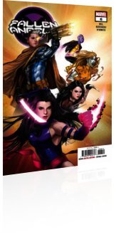 Marvel Comics: Fallen Angels - Issue # 6 Cover