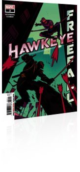 Marvel Comics: Hawkeye: Freefall - Issue # 2 Cover