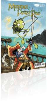 BOOM! Studios: Muppet Peter Pan - Issue # 2 Cover A