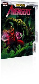 Marvel Comics: Empyre: Avengers - Issue # 2 Cover