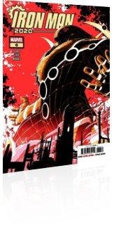 Marvel Comics: Iron Man 2020 - Issue # 6 Cover