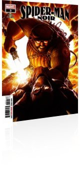 Marvel Comics: Spider-Man Noir - Issue # 3 Cover