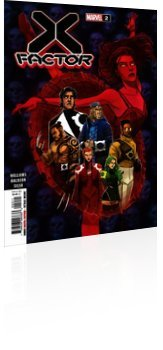 Marvel Comics: X-Factor - Issue # 2 Cover