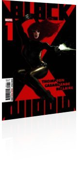 Marvel Comics: Black Widow - Issue # 1 Cover
