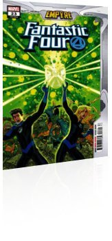 Marvel Comics: Fantastic Four - Issue # 23 Cover
