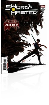 Marvel Comics: Sword Master - Issue # 10 Cover