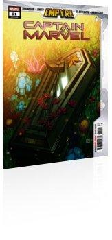 Marvel Comics: Captain Marvel - Issue # 21 Cover