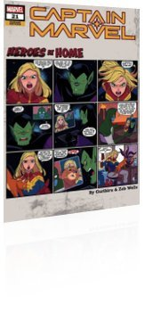 Marvel Comics: Captain Marvel - Issue # 21 Page 2